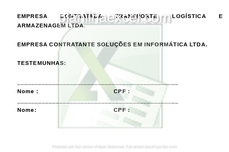 modelo de distrato - assinaturas